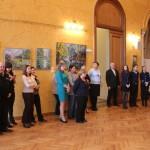 Открытие выставки «Весенний ветер»