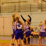 Соревнования по баскетболу на первенство ВУЗов