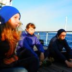 Петербургский Морской клуб «Юнга» -на паруснике «Мир»