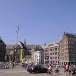 Парусник «Мир» в Амстердаме
