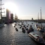 Парусник «Мир» прибыл в Амстердам