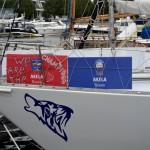 Торжественная встреча яхты «Акела»