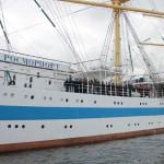 Возвращение парусного учебного судна