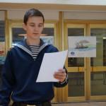 Торжественные мероприятия в Морской академии