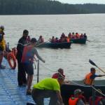 Завершилась летняя морская оздоровительная программа в загородном центре «Зеркальный» на Карельском перешейке