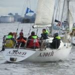 Яхты учебной флотилии ГУМРФ имени адмирала С.О. Макарова приняли участие в гонке на Кубок яхт-клуба «Балтиец»