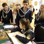 Воспитанники морского клуба «Юнга»
