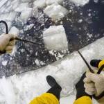 Субботник по заготовке льда