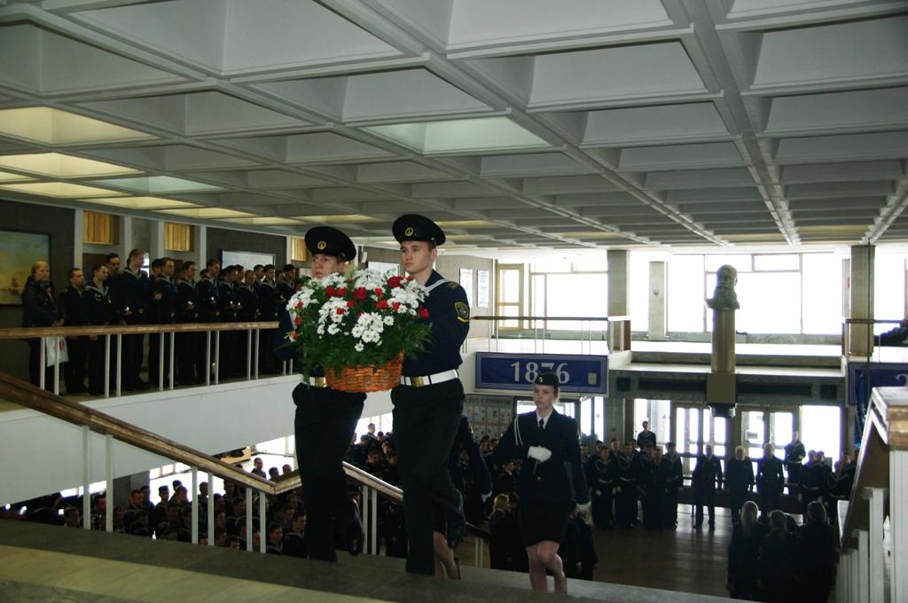 13 апреля в ГУМРФ состоялись торжественно-траурные мероприятия