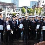 День Победы на паруснике «Мир»