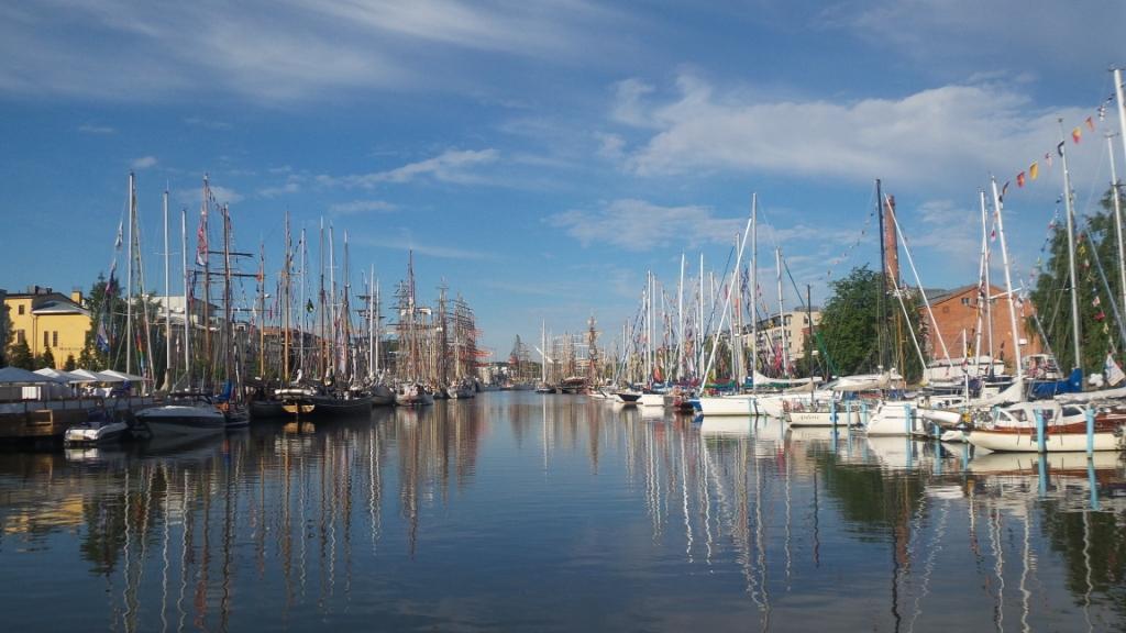 23 июля в порту города Турку (Финляндия) завершился второй этап Международной регаты учебных парусных судов 2017