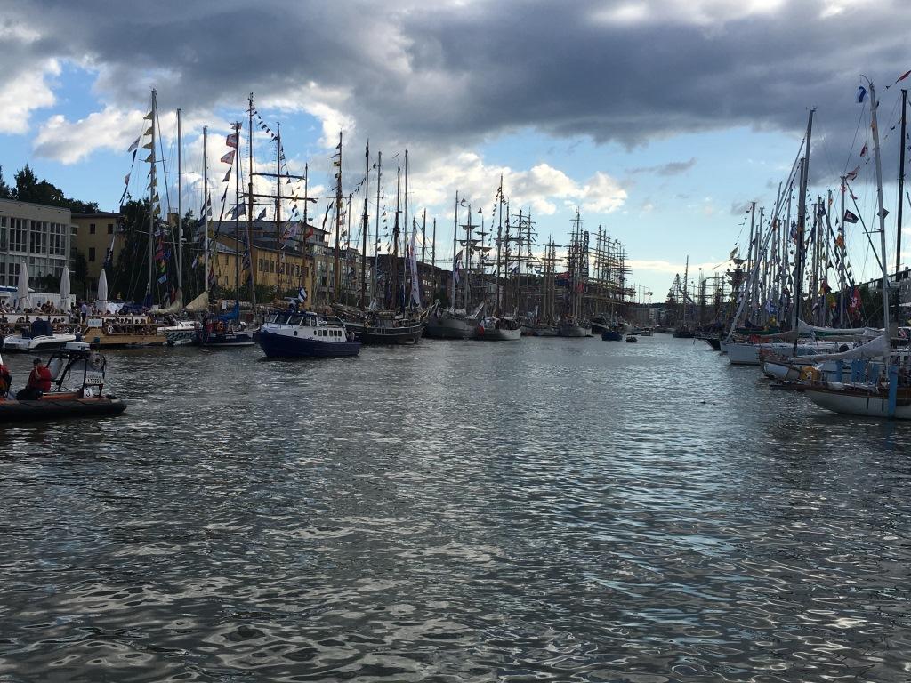 Третий этап Международной регаты учебных парусных судов 2017 («The Tall Ships Races 2017»)