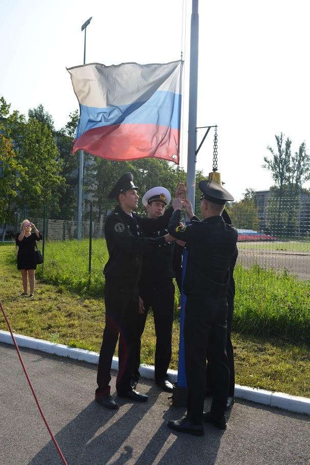 День знаний в ГУМРФ имени адмирала С.О. Макарова «Учиться здесь – великолепно!»