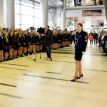Посвящение в студенты первокурсников ГУМРФ