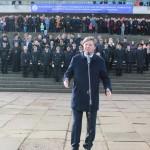Церемония рекорда «А на флоте вы нужны, послужите для страны!»