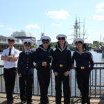 Парусник «Мир»: в порту Бремерхафена