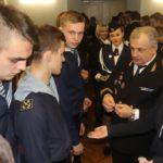 Торжественная встреча экипажа парусника «Мир»