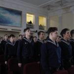 Макаровцы – в честь Дня защитника Отечества  21 февраля 2019 года в ГУМРФ имени адмирала С.О. Макарова состоялось торжественное мероприятие, посвященное Дню защитника Отечества.