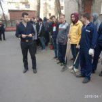 День благоустройства Санкт-Петербурга в ГУМРФ имени адмирала С.О. Макарова
