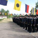 Практика курсантов первого курса на острове Западном Березовом