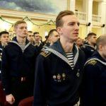 Церемония чествования передовых курсантов и студентов ГУМРФ по итогам 2019 года