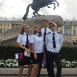 Волонтеры ГУМРФ на праздничных мероприятиях Санкт-Петербурга
