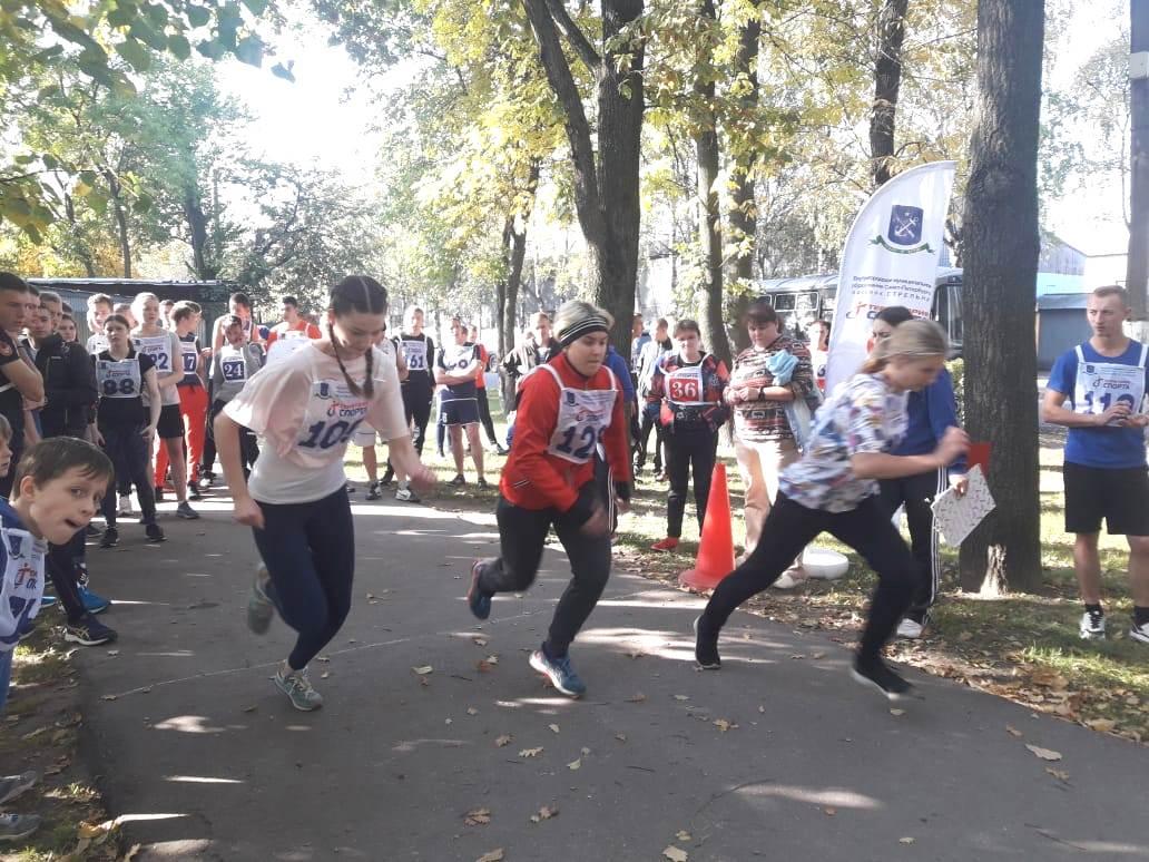 Макаровцы на легкоатлетическом пробеге в Стрельне