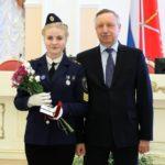 Награда Волонтерского объединения Колледжа ГУМРФ «Маяк перемен» от Правительства Санкт-Петербурга