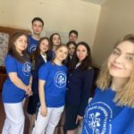 Студенты ГУМРФ в Карелии