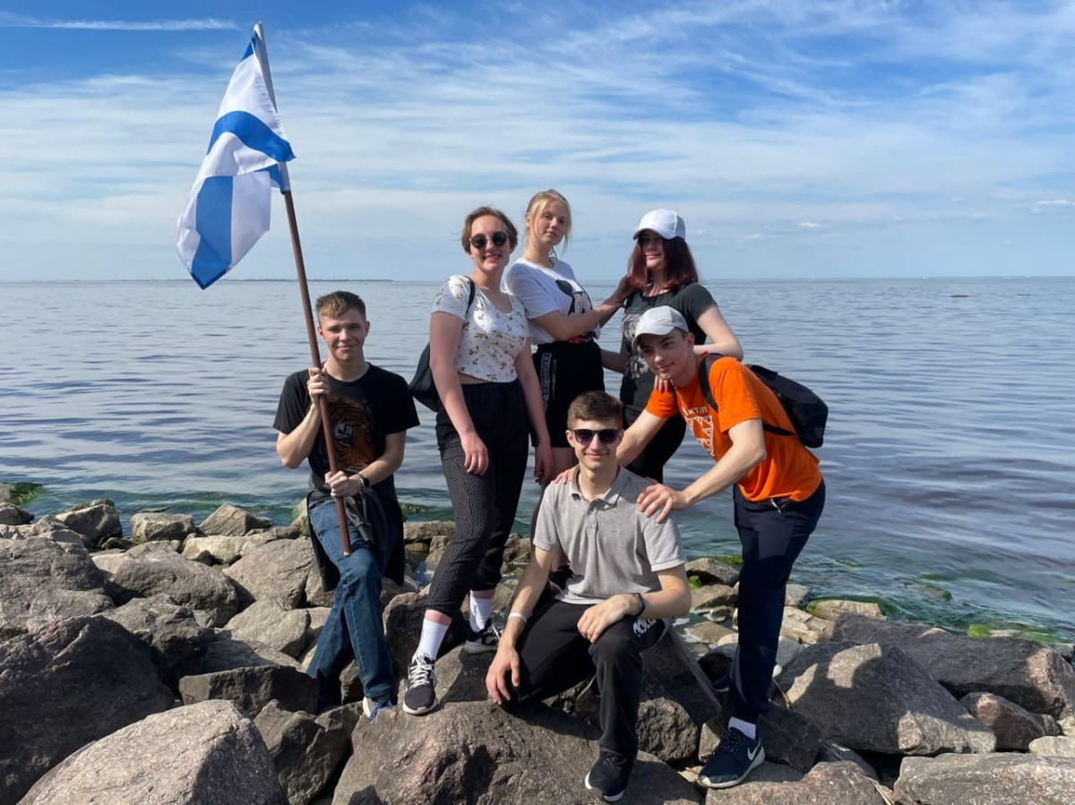 Курсанты ГУМРФ - на молодежной экологической акции