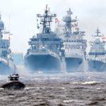 Яхта ГУМРФ «Акела» - участник военно-морского парада