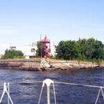 Яхты ГУМРФ в походе на форты Кронштадта